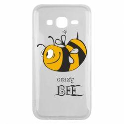 Чехол для Samsung J5 2015 Сумасшедшая пчелка