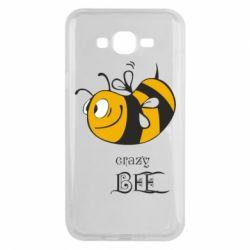Чехол для Samsung J7 2015 Сумасшедшая пчелка