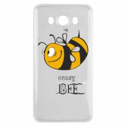 Чехол для Samsung J7 2016 Сумасшедшая пчелка