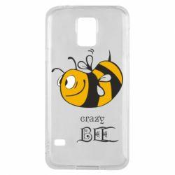 Чехол для Samsung S5 Сумасшедшая пчелка