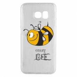 Чехол для Samsung S6 EDGE Сумасшедшая пчелка