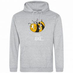Толстовка Сумасшедшая пчелка - FatLine
