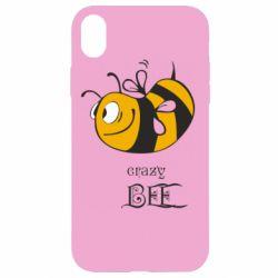Чехол для iPhone XR Сумасшедшая пчелка