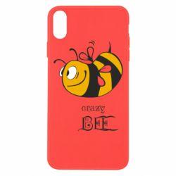 Чехол для iPhone Xs Max Сумасшедшая пчелка