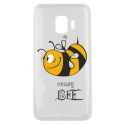 Чехол для Samsung J2 Core Сумасшедшая пчелка