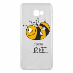 Чехол для Samsung J4 Plus 2018 Сумасшедшая пчелка