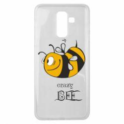 Чехол для Samsung J8 2018 Сумасшедшая пчелка