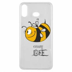 Чехол для Samsung A6s Сумасшедшая пчелка
