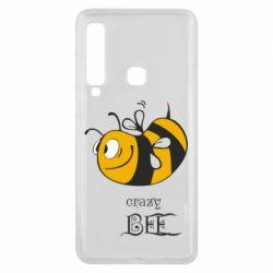 Чехол для Samsung A9 2018 Сумасшедшая пчелка