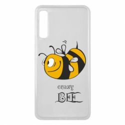 Чехол для Samsung A7 2018 Сумасшедшая пчелка
