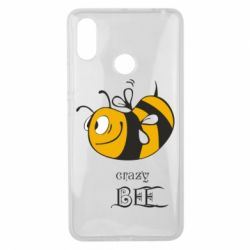Чехол для Xiaomi Mi Max 3 Сумасшедшая пчелка