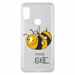 Чехол для Xiaomi Redmi Note 6 Pro Сумасшедшая пчелка