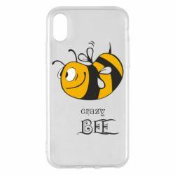 Чехол для iPhone X/Xs Сумасшедшая пчелка