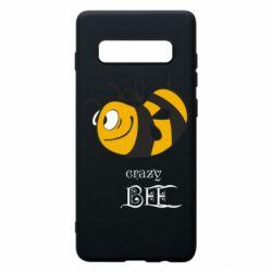Чехол для Samsung S10+ Сумасшедшая пчелка