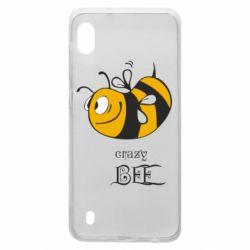 Чехол для Samsung A10 Сумасшедшая пчелка