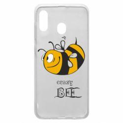 Чехол для Samsung A30 Сумасшедшая пчелка