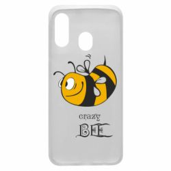 Чехол для Samsung A40 Сумасшедшая пчелка