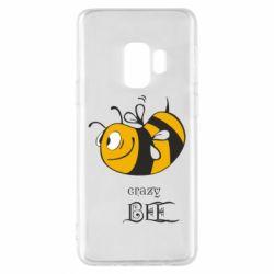 Чехол для Samsung S9 Сумасшедшая пчелка