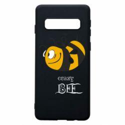 Чехол для Samsung S10 Сумасшедшая пчелка