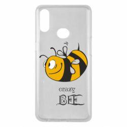 Чехол для Samsung A10s Сумасшедшая пчелка