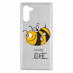 Чехол для Samsung Note 10 Сумасшедшая пчелка