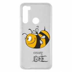 Чехол для Xiaomi Redmi Note 8 Сумасшедшая пчелка