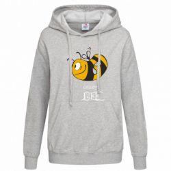 Женская толстовка Сумасшедшая пчелка - FatLine