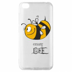Чехол для Xiaomi Redmi Go Сумасшедшая пчелка