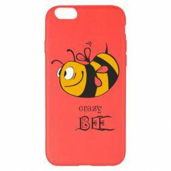 Чехол для iPhone 6 Plus/6S Plus Сумасшедшая пчелка