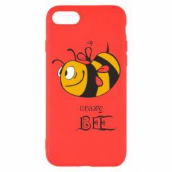 Чехол для iPhone 7 Сумасшедшая пчелка