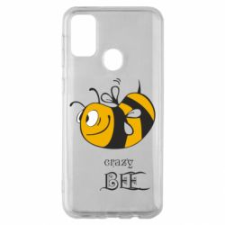 Чехол для Samsung M30s Сумасшедшая пчелка