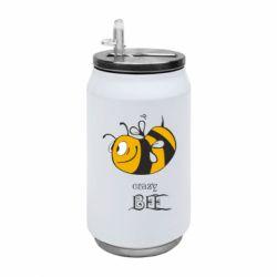 Термобанка 350ml Сумасшедшая пчелка