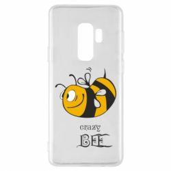 Чехол для Samsung S9+ Сумасшедшая пчелка