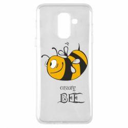 Чехол для Samsung A6+ 2018 Сумасшедшая пчелка