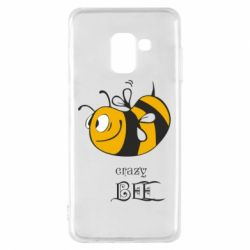 Чехол для Samsung A8 2018 Сумасшедшая пчелка