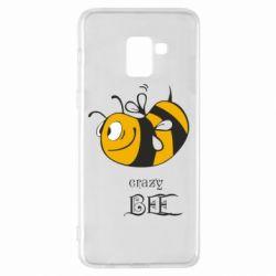 Чехол для Samsung A8+ 2018 Сумасшедшая пчелка