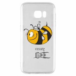 Чехол для Samsung S7 EDGE Сумасшедшая пчелка