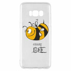 Чехол для Samsung S8 Сумасшедшая пчелка