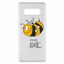 Чехол для Samsung Note 8 Сумасшедшая пчелка