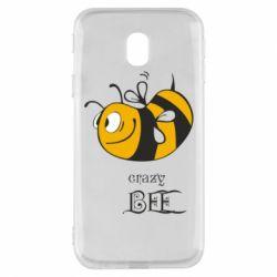 Чехол для Samsung J3 2017 Сумасшедшая пчелка