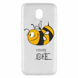 Чехол для Samsung J5 2017 Сумасшедшая пчелка