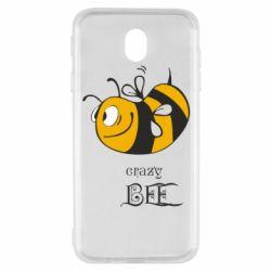 Чехол для Samsung J7 2017 Сумасшедшая пчелка