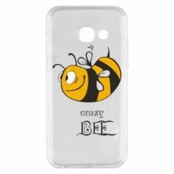 Чехол для Samsung A3 2017 Сумасшедшая пчелка
