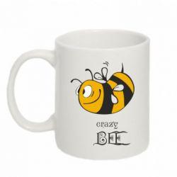 Кружка 320ml Сумасшедшая пчелка - FatLine