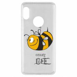 Чехол для Xiaomi Redmi Note 5 Сумасшедшая пчелка