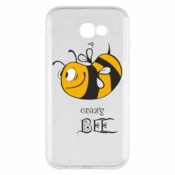 Чехол для Samsung A7 2017 Сумасшедшая пчелка