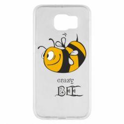 Чехол для Samsung S6 Сумасшедшая пчелка