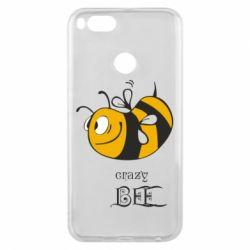 Чехол для Xiaomi Mi A1 Сумасшедшая пчелка