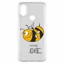 Чехол для Xiaomi Mi A2 Сумасшедшая пчелка