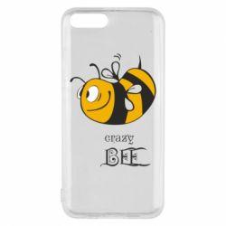 Чехол для Xiaomi Mi6 Сумасшедшая пчелка